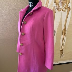 J Crew pink coat